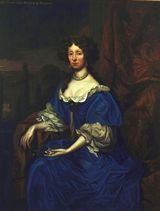 Portrait of Anne, Duchess of Hamilton (1632-1716), painted in 1682 by Sir Godfrey Kneller (1646-1723) - click for Scran Resource