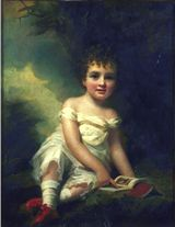 Portrait of William, 11th Duke of Hamilton (1811-1863), as a child, painted c.1814 by Sir Henry Raeburn (1756-1823) - click for Scran Resource
