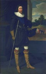 Portrait of James, 2nd Marquis of Hamilton (1589-1625), painted by Daniel Mytens (1590-1656) - click for Scran Resource