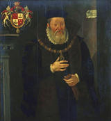 James, 2nd Earl of Arran and Duke of Châtelherault (d.1575), attributed to Arnold Bronckorst (fl. 1566-83) - click for Scran Resource
